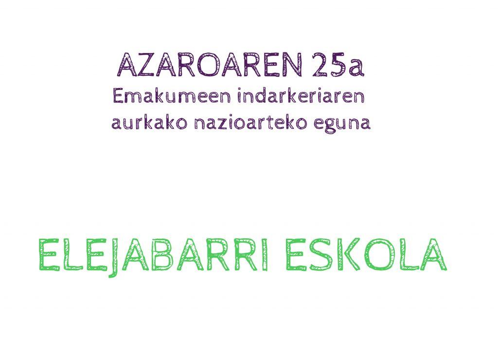 A25 | Biolentzia non, Komunitatea han!